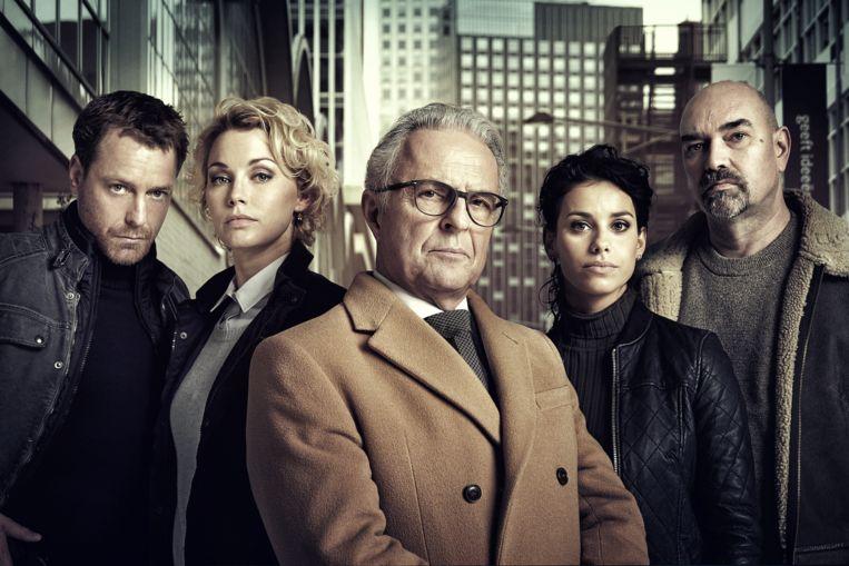 Op déze datum begint het vijfde seizoen van 'Flikken Rotterdam' Beeld Ruud Baan