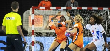 Handbalsters verslaan Angola in uitzwaaiwedstrijd