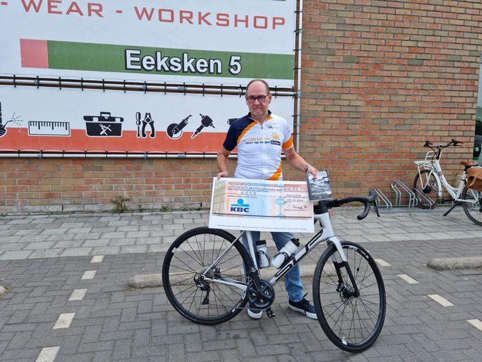Marc Van Wiemeersch is terecht trots op het ingezamelde bedrag.