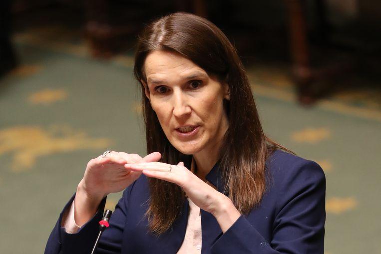 In de strijd tegen het coronavirus kreeg de minderheidsregering van premier Sophie Wilmès bijzondere machten. Beeld BELGA