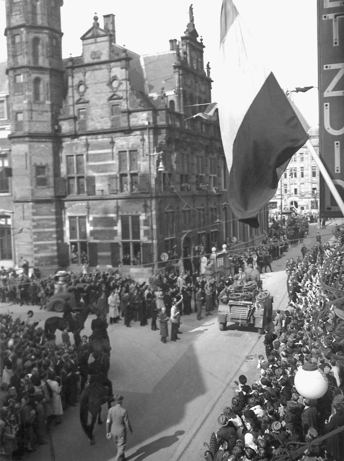 De bevrijding in Den Haag.