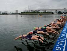 Triatlete Rachel Klamer was jaar voor de Spelen op testevent in Japan