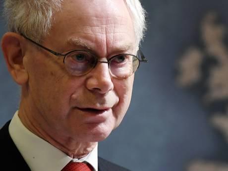 "La sortie inattendue d'Herman Van Rompuy: ""Qu'ils essaient l'arc-en-ciel"""