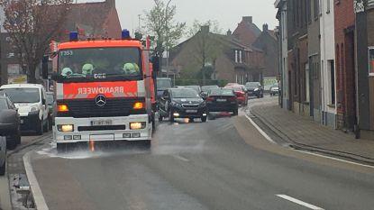 Mazoutspoor op Statiewijk veroorzaakt even verkeershinder