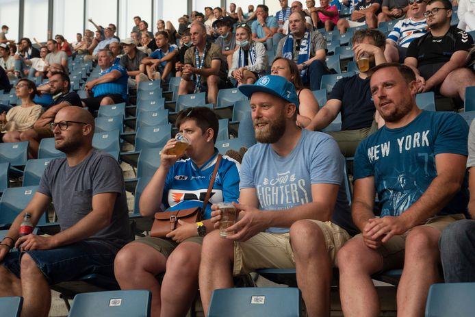 Opnieuw volk in de tribunes bij AA Gent.