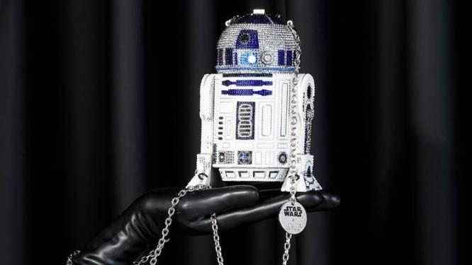 Star Wars-fans opgelet: luxemerk Judith Leiber verkoopt kristallen handtassen van de robot R2-D2