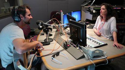 Arne Vanhaecke schopt het tot op de radio in Australië...met een Nederlandstalig liedje