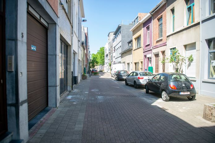 De Bloemstraat in Borgerhout.
