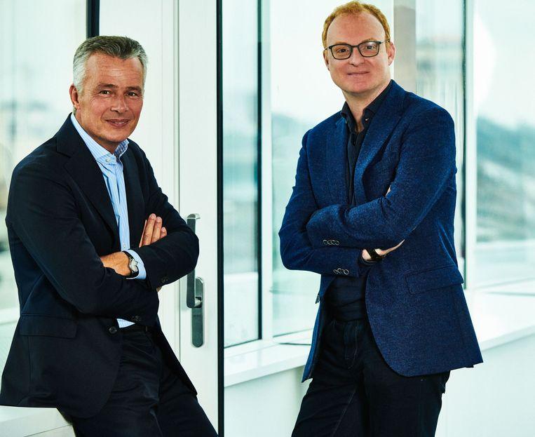 Christian Van Thillo en Erik Roddenhof. Beeld DPG Media