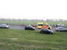 750 euro boete na veroorzaken ongeval A59, drie personen raakten gewond