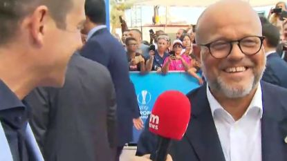 """Bart Verhaeghe op rode loper in Monaco: """"Vertonghen naar Club? (lacht) Ik wens Jan het allerbeste toe"""""""