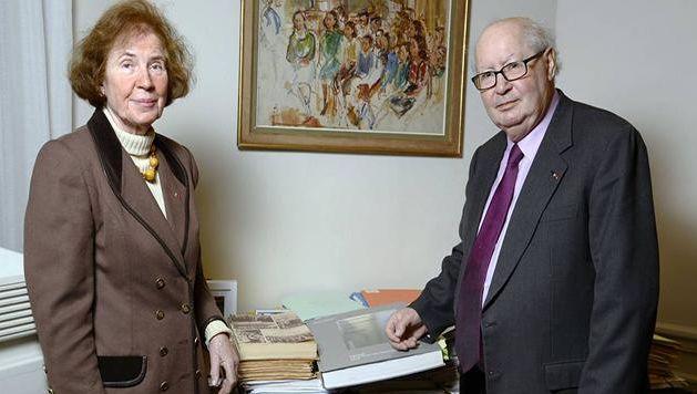 Beate Klarsfeld, fille d'un soldat de la Wehrmarcht, l'armée allemande, et son mari Serge, juif et fils de déporté, respectivement 78 et 81 ans, ont consacré leur vie à lutter contre l'impunité d'anciens nazis.