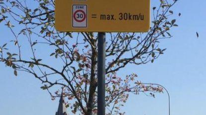 Zonaal snelheidsplan geldt niet op gewestwegen