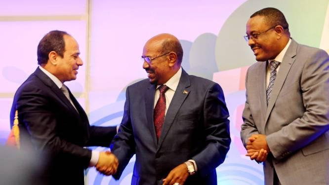 Soedan, Ethiopië en Egypte sluiten principeakkoord voor een stuwdam op de Nijl