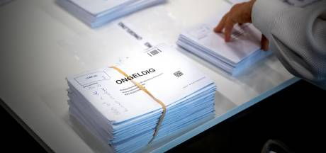 Veel afgekeurde briefstemmen in Achterhoek