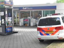 Tankstation Gulf aan de Houtwijklaan weer overvallen
