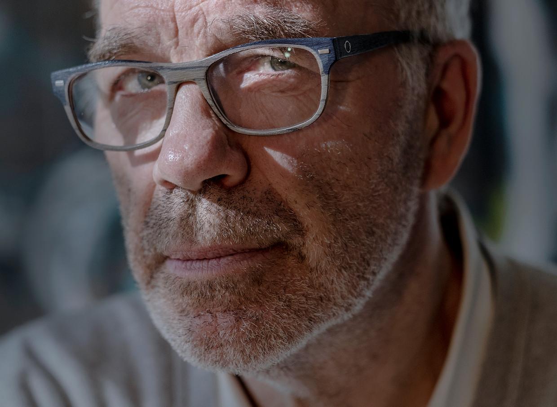 Harold Hamersma: 'Mijn bovenkamer is inderdaad mijn werkkamer. Zolang die werkt, blijf ik schrijven.'