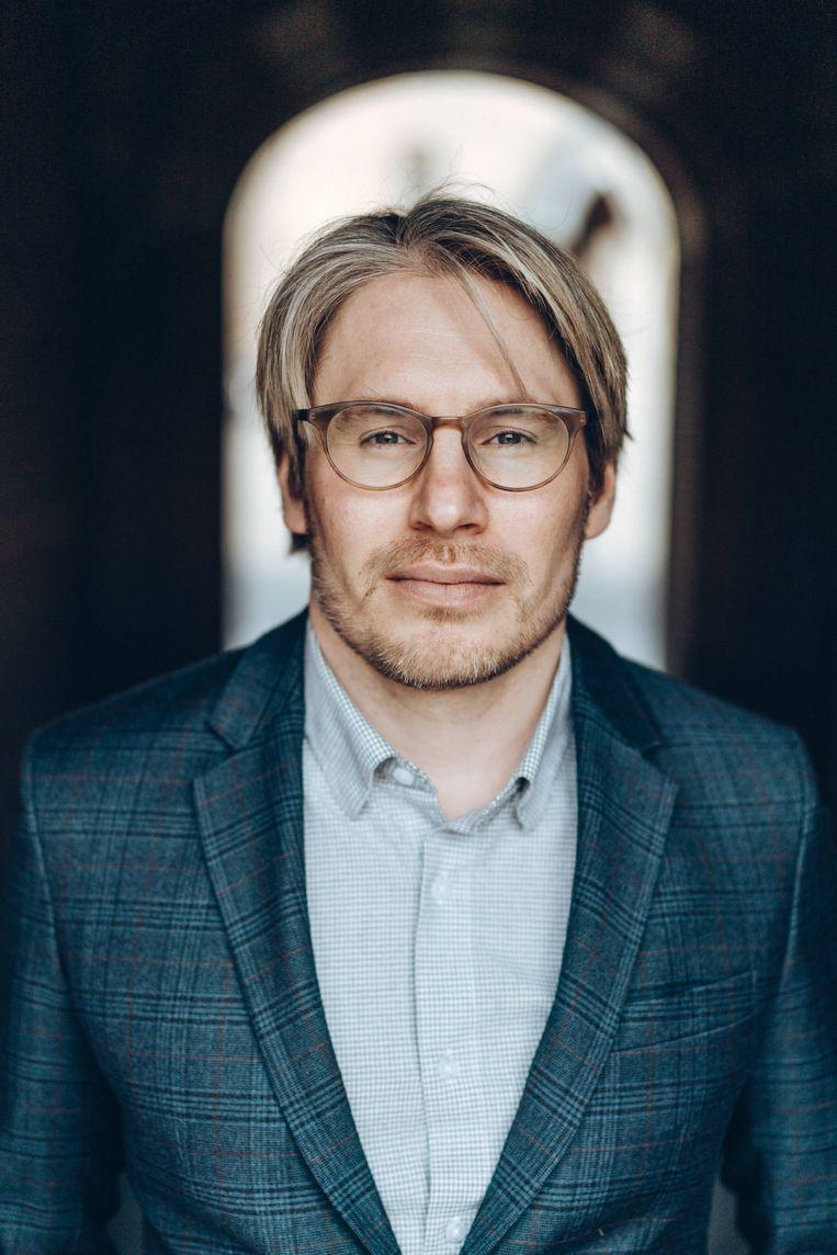 Eric C. Hendriks: 'Ik vind Jonathan Holslag soms erg fanatiek klinken. Hij is een havik die aanstuurt op een koude oorlog met China.' Beeld Thomas Sweertvaegher