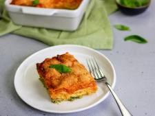 Wat Eten We Vandaag: Vegetarische tricolore lasagne