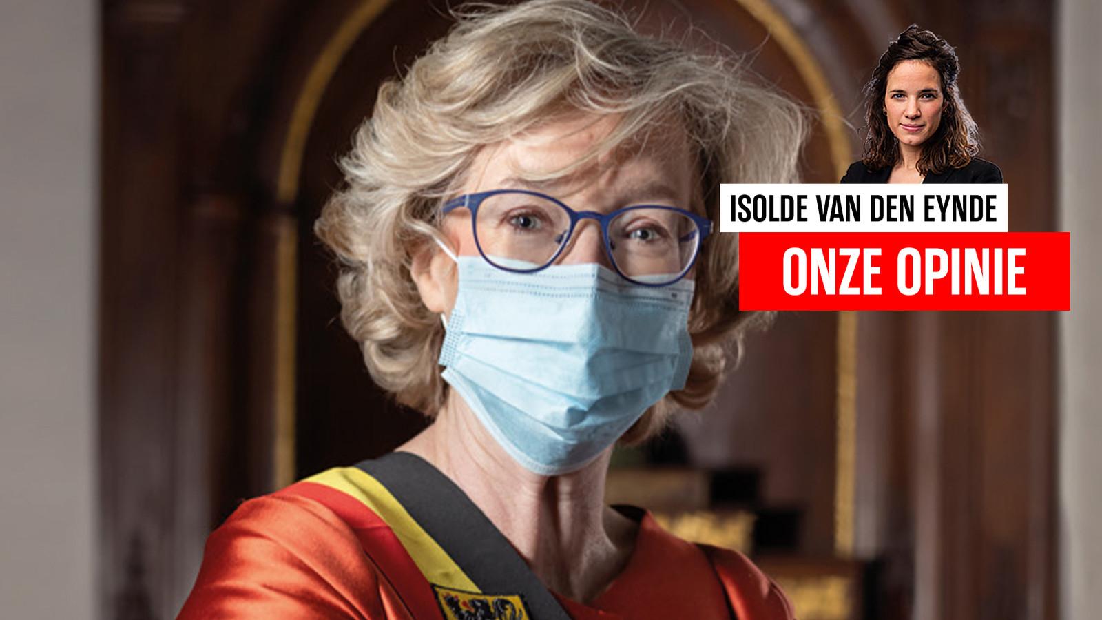 Burgemeester van Sint-Truiden Veerle Heeren (CD&V).