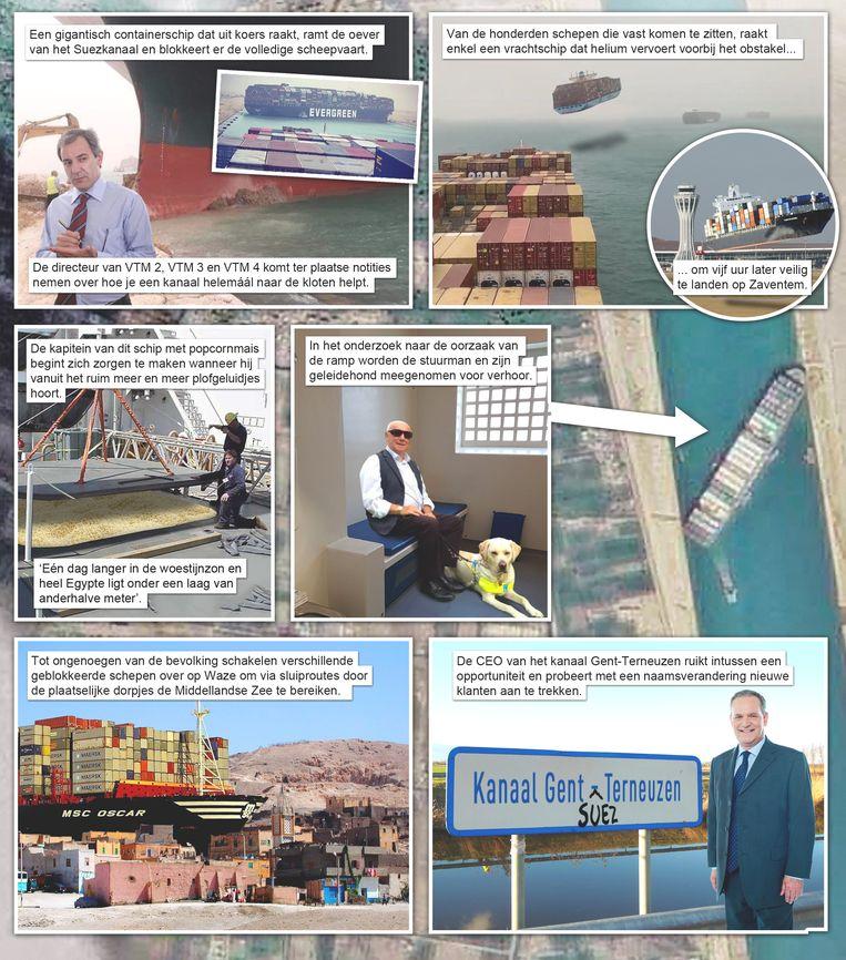 Het Gat van de Wereld 13: suez-kanaal Beeld Humo