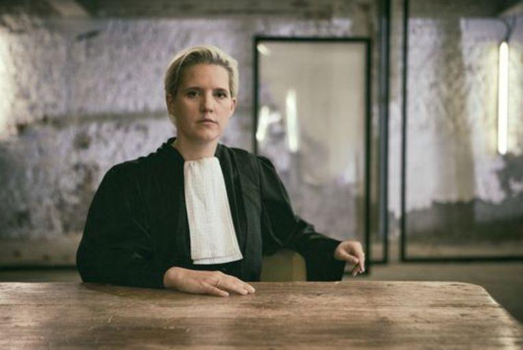 Nina Van Eeckhaut in 'Strafpleiters'. Beeld Woestijnvis