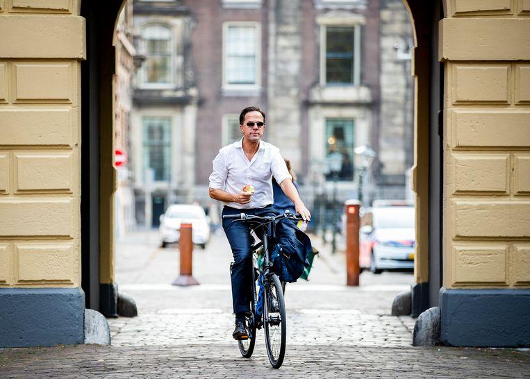 Verdachte Yavuz O. zou hebben gesproken over 'het afknallen van Rutte als hij buiten gaat fietsen'. Beeld Hollandse Hoogte /  ANP
