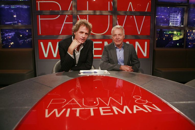 Jeroen Pauw en Paul Witteman. Beeld anp