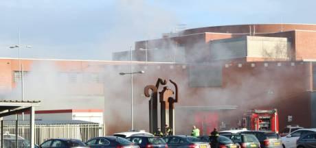 Ruime afzetting bij gevangenis in Zutphen om brand bij busje