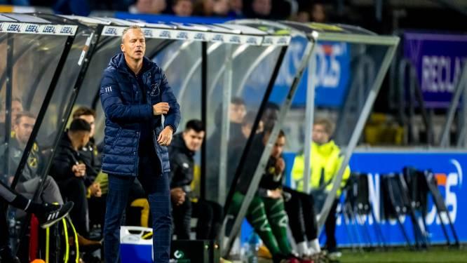 NAC-trainer De Graaf ziet genoeg verbeterpunten: 'Aan de bal moeten we meer initiatief nemen'