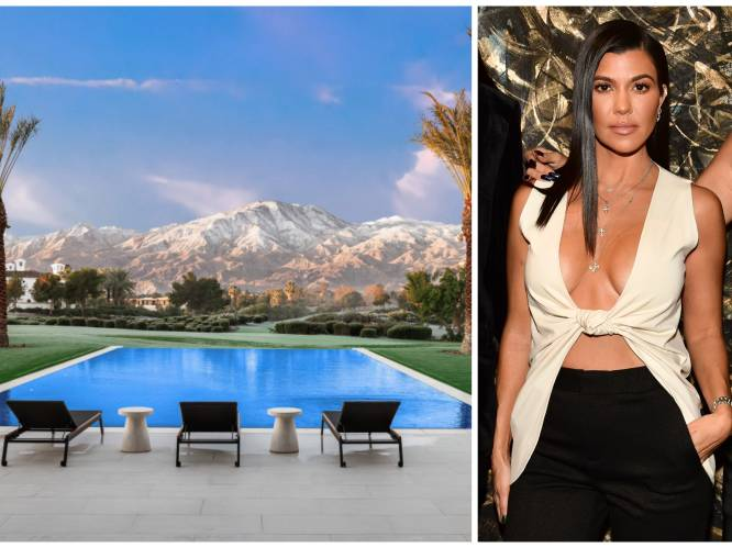 BINNENKIJKEN. In deze villa bouwt Kourtney Kardashian aan haar nieuwe leven