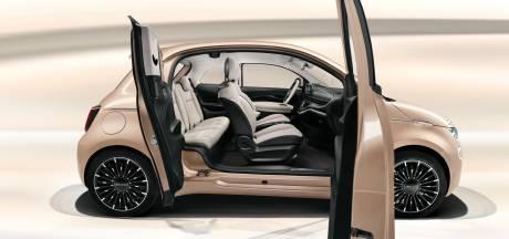Verrassend: elektrische Fiat 500e krijgt ook 'suicide'-deuren