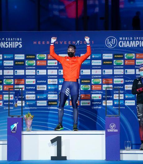 Verbij grijpt wereldtitel 1000 meter, Krol gaat de mist in met valse start