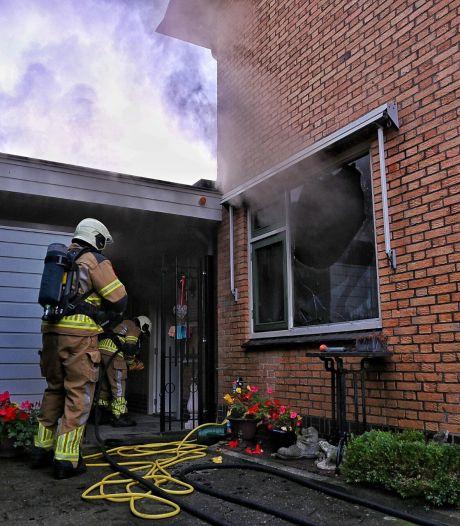 Woning in Oisterwijk tijdelijk onbewoonbaar door flinke keukenbrand