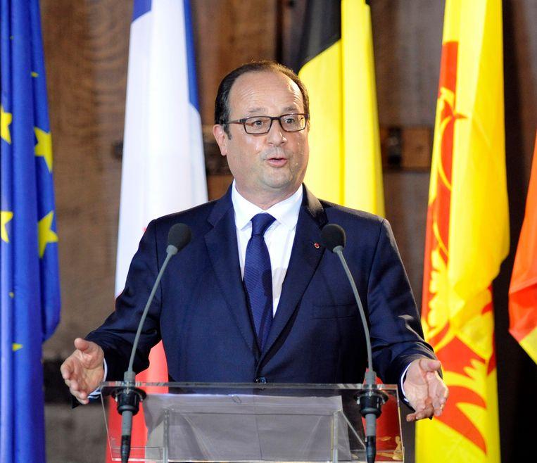 Wie volgt huidig president Hollande op? Hijzelf of toch Nicolas Sarkozy? Beeld REUTERS