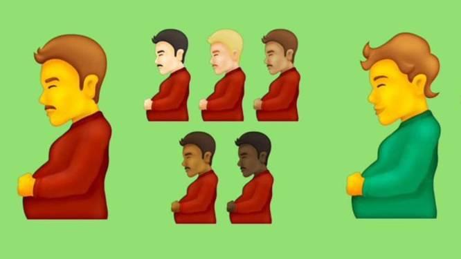 Zwangere man, bonen en glijbaan: dit zijn de nieuwste emoji's voor smartphones
