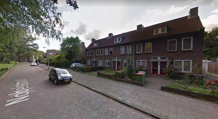 Nobelstraat in Breda.