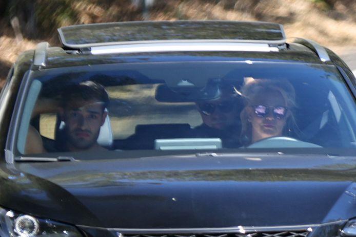 Britney Spears en Sam Asghari