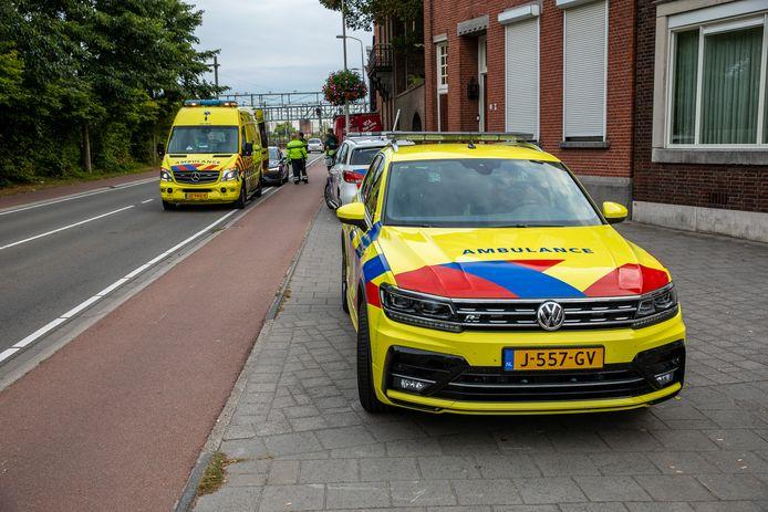 Man gewond bij werkzaamheden in Roosendaal.