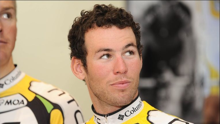 Mark Cavendish is niet te spreken over zijn ploegmaat André Greipel. Beeld UNKNOWN