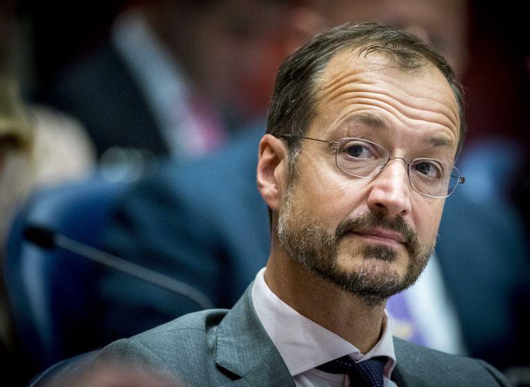 Minister Eric Wiebes van Economische Zaken en Klimaat. Beeld ANP