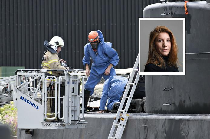 De onderzeeër waar Kim Wall voor het laatst levend is gezien.