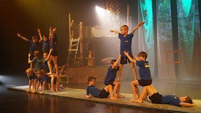 Gemeenteschool pakt uit met spektakel