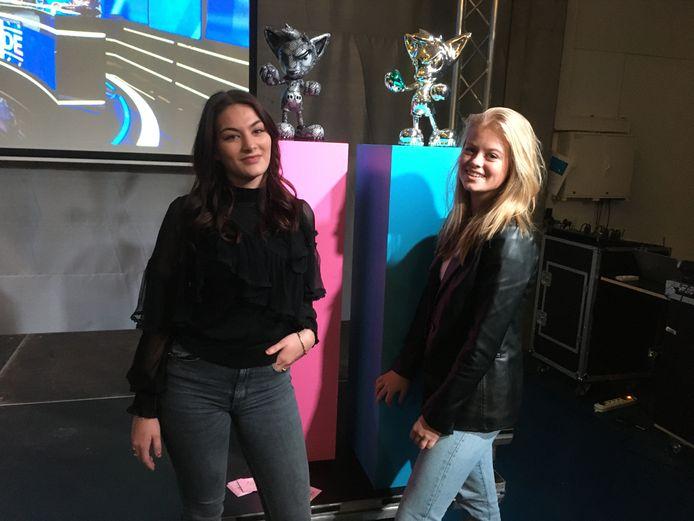 Lana Bels en Lobke de Jong volgen een bijzonder onderwijsproject om straks toch een stageplek te kunnen vinden.