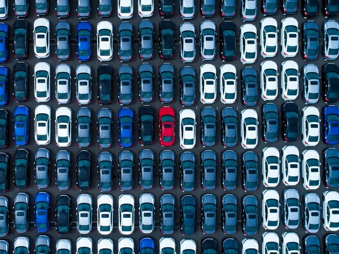 Populaire autokleuren 2020.