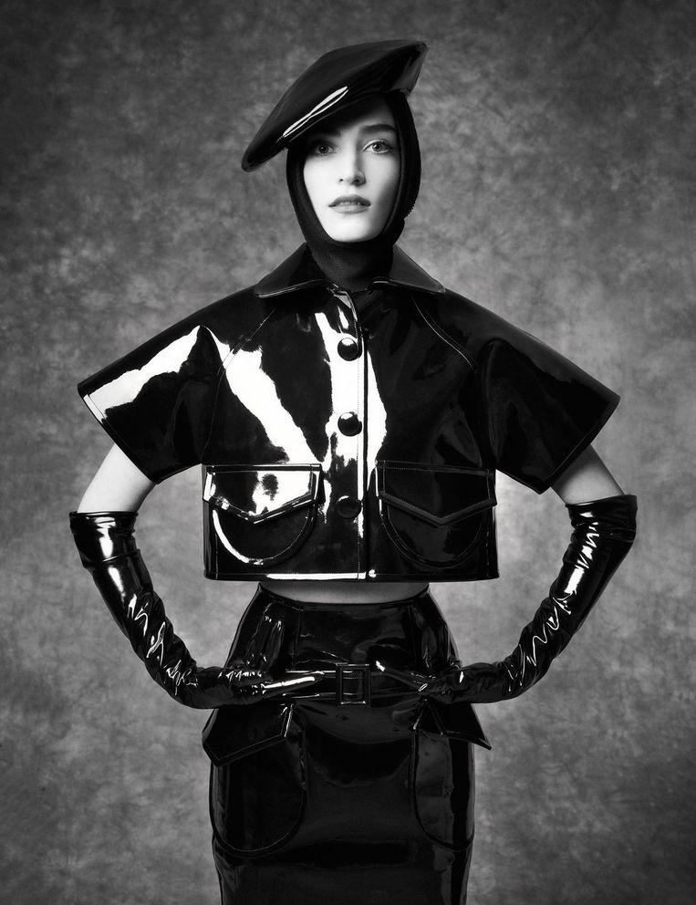Benchellals winnende collectie Vogue Fashion Prize 2020 Beeld Tim Verhallen