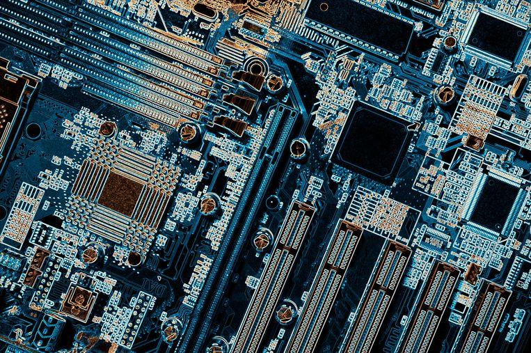 De eisen aan chips nemen toe, niet alleen in computers maar ook in auto's. Beeld Getty Images/Science Photo Libra
