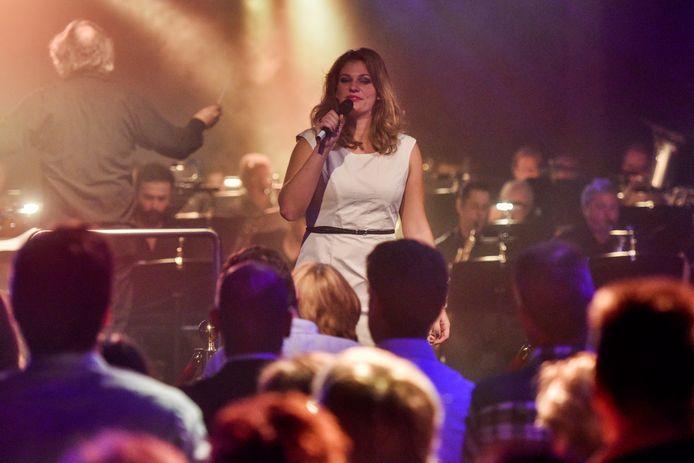 Promsconcert van harmonie Prinses Juliana in Den Boogaard anno 2015.