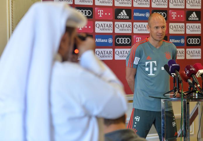 Arjen Robben in Qatar