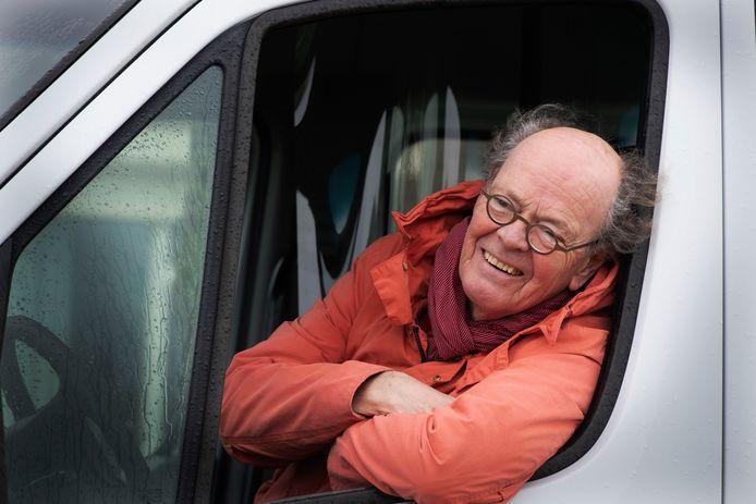Vrijwilliger Jaap Andriesse.